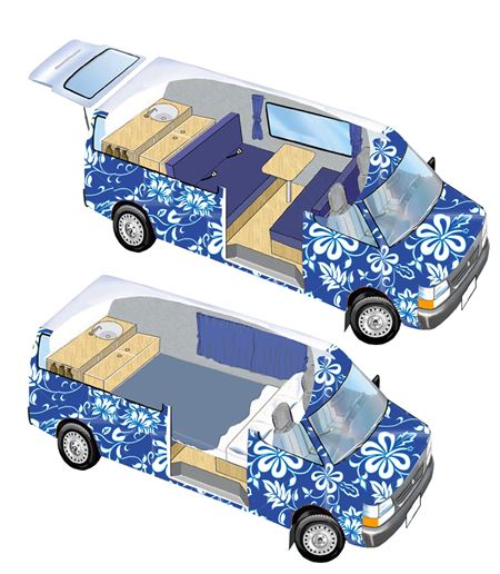 Photo from EscapeCampervans.com